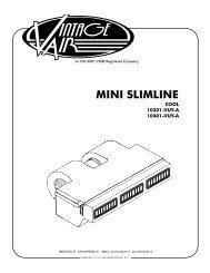 MINI SLIMLINE - Vintage Air