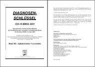 ICD-10 BMSG 2001 - Bundesministerium für Gesundheit
