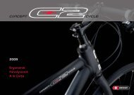 Katalog 2009 - Bike Sport Matter