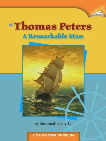 Lesson 14:Thomas Peters A Remarkable Man
