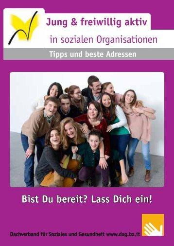 Jung & freiwillig aktiv - Dachverband für Soziales und Gesundheit