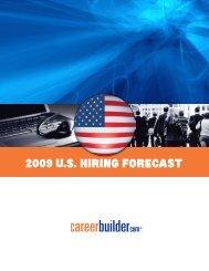 2009U.S. Hiring forecaSt - Icbdr