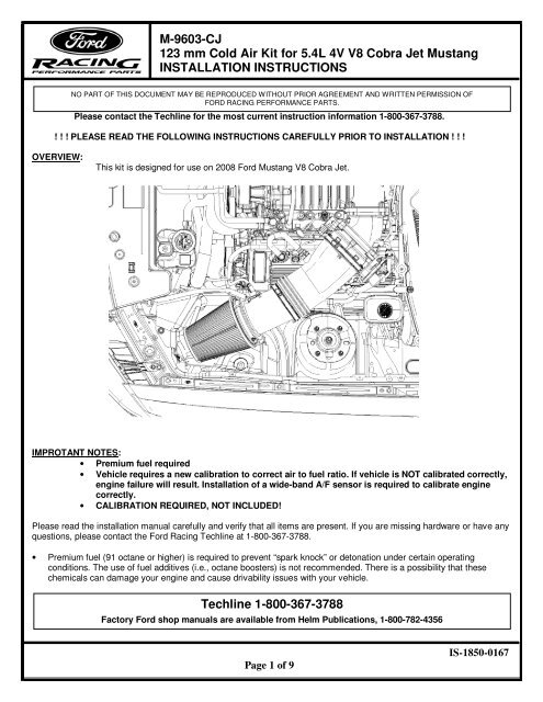 Available Pdf Ford Racing Parts