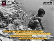 Sanitation for All (UNICEF) - The Water, Sanitation and Hygiene