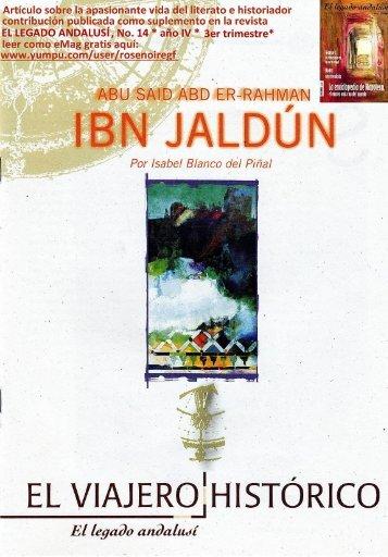 La apasionante vida del historiador y literato Ibn Jaldun
