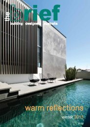 warm reflections - Building Designers Association of Australia