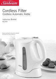 Cordless Automatic Kettle - Sunbeam