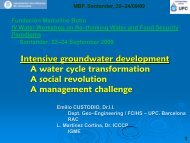 Groundwater development