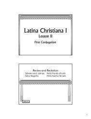 Lesson 2 - Memoria Press