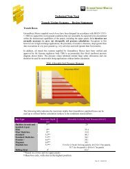 Technical Note No.6 Trench Lining Systems - Design ... - Groundforce