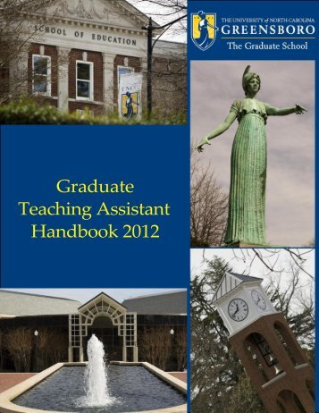 manual here - The Graduate School - The University of North ...