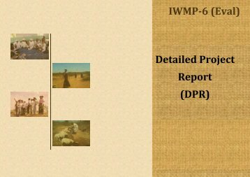 Detailed Project Report - Department of Land Resources