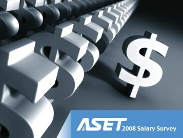 ASET Salary Survey Report 2008