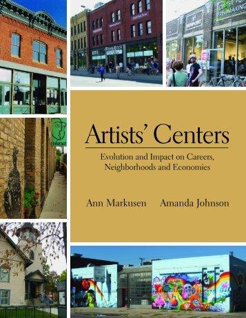 Ann Markusen Amanda Johnson - Humphrey School of Public ...