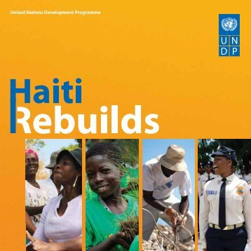 UNDP: Haiti rebuilds - Minustah