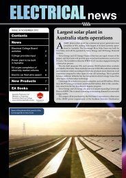 Largest solar plant in Australia starts operations - Engineers Media