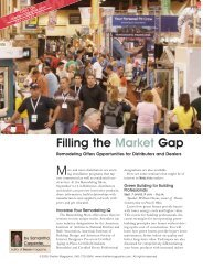Filling the Market Gap - USGlass Magazine