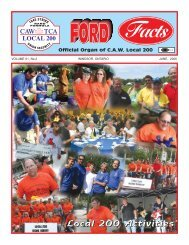 42984 Ford Facts - CAW Local 200