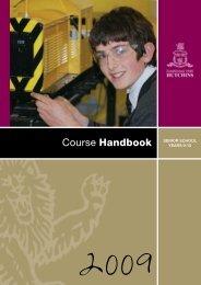 2009 hutchins 9-10 handbook