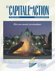 La capitale en action, édition spéciale, troisième anniversaire