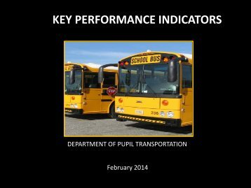KEY PERFORMANCE INDICATORS - Henrico County Public Schools