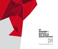 2009 AAANZ Conference Abstracts - The Art Association of Australia ...