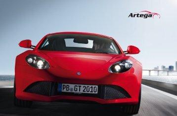 Prospekt Genf 2011 - Artega GT Forum