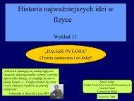 (Teoria ostateczna i co dalej?). - Uniwersytet Śląski