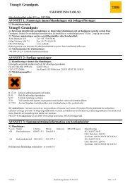 Säkerhetsdatablad Ytong Grundputs