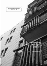Riktlinjer för bostadsförsörjning 2008-2015 GISLAVEDS ... - Boverket