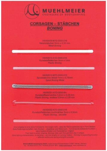 Material - MUEHLMEIER Bodyshaping GmbH