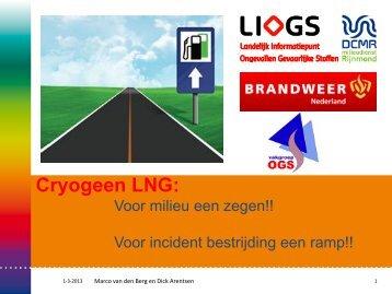 Presentatie incidenten LNG - BrandweerKennisNet
