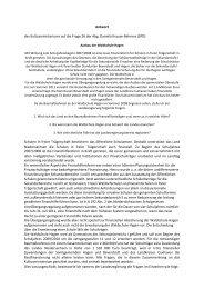 Waldschule Hagen mit Antwort der ... - Daniela Behrens