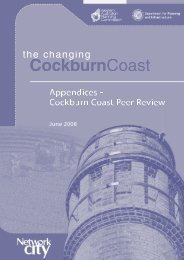 peer review report - Western Australian Planning Commission - The ...