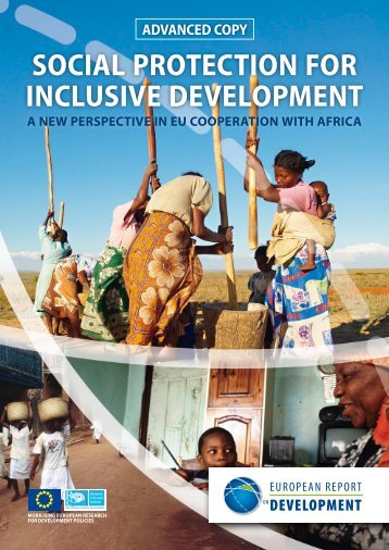 social protection for inclusive development - ERD - European ...