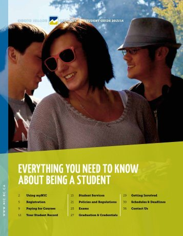 Student Guide - North Island College