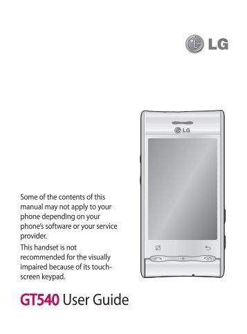 manual de lg gt540 ebook rh manual de lg gt540 ebook nflodds us