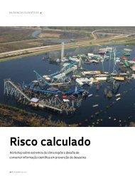 Risco calculado - Revista Pesquisa FAPESP