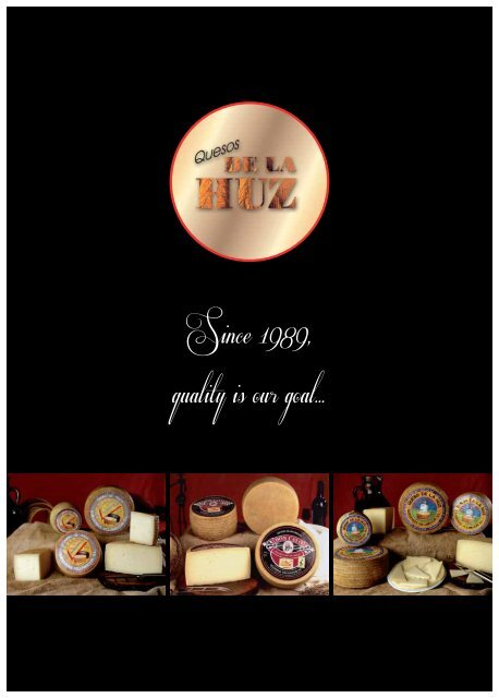 Quesos De La Huz - Cheese - Catalogue 2012