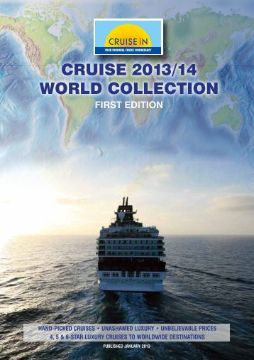 Cruise 2013/14 WOrLD COLLeCTiON - Cruise In