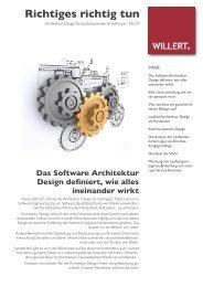 Software Engineering Report No 27 - Willert