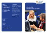 A Student Guide to the Personal Tutoring System