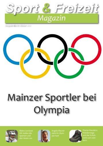 Sport&Freizeit; Magazin November 2012