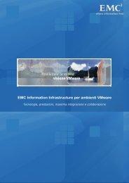 EMC Information Infrastructure per ambienti VMware - CIO Club