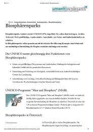 Umweltbundesamt_ Biosphärenparks - Biosphärenpark Lungau