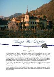 Weingut Alois Lageder - winogrono.de