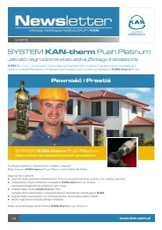 Newsletter - KAN-therm