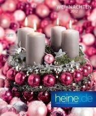 Heine Weihnachtskatalog 2012