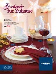 Karstadt Geschenke für Zuhause