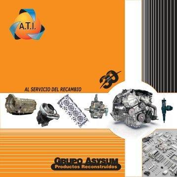 Nuevo catàlogo 30 aniversario Grupo Asysum - Presentación de ...
